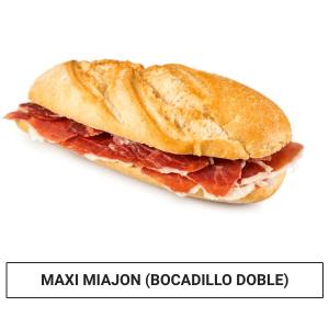 Maxi Miajón (Bocadillo Doble)